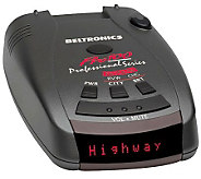 Beltronics Pro 100 All-Band Radar and Laser Detector - E263733