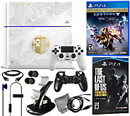 Limited Edition Destiny Sony PS4 Bundle w/The Last of Us - E285033