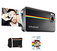 Polaroid Z2300 Instant Digital Camera with 20-Pack Film Paper - E288633