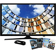 Samsung 50 Class LED Smart HDTV with HDMI Cable and Software - E291533