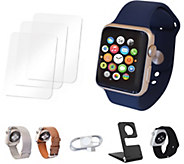 Apple Watch Sport Series 1 42mm with Extra Bands & Accessories - E291933