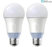 TP Link LB120 Set/2 Smart Light Bulbs Tunable White Works w/ Alexa - E230434