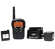 Midland S.A.M.E. Handheld Weather Alert Radio -Black - E262534