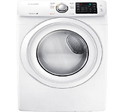 Samsung 7.5 Cubic Foot Front-Load Electric Dryer - E277934