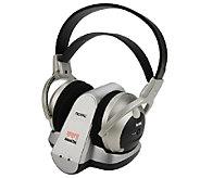 Wireless Stereo Headphones for TV Listening, Chargable Batter - E281034