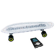 Hipstreet Minicruiser LED Skateboard Bundle with MP3 Player - E284234