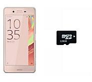 Sony X Performance 32GB Unlocked Phone with 128GB microSD Car - E289734