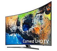 Samsung 55 4K Curved Ultra HD Smart TV with App Pack & 2-Yr Warranty - E231935