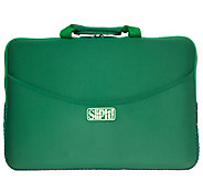 SlipIt! Plus Case for 15 Notebook - Green - E247635