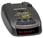 Beltronics Pro 300 All-Band Radar and Laser Detector - E263735