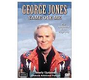 George Jones: Same Ole Me DVD - E264835