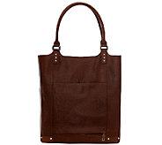 Jill-E Leather Laptop Tote Bag - E282135