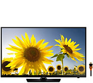 Samsung 40 Class LED HDTV with HDMI Cable - E288435