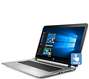 HP ENVY 17 Touch Laptop - Core i7, 12GB RAM, 1TB Hybrid Drive - E289335