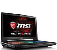 MSI GT73VR Gaming Computer - Core i7, 16GB RAM,GTX 1080 - E289835