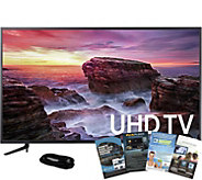 Samsung 58 LED Smart 4K Ultra HDTV, HDMI Cableand Software - E291535