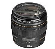 Canon Telephoto EF 100mm f/2.0 USM AF Lens - E293835