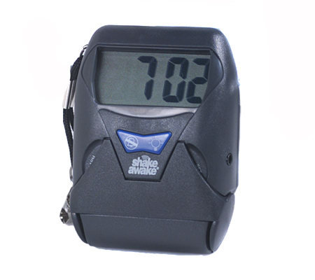 Quot Shake Awake Quot Portable Vibrating Alarm Clock Qvc Com