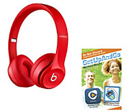 Beats By Dre Solo 2 Wireless Headphones w/ App Package - E227736