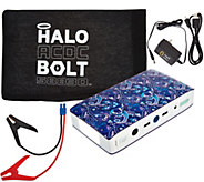HALO Bolt AC DC 58,830 mWh Portable Charge Car JumpStarter with AC Outlet - E229136