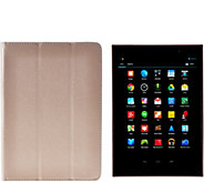 Gigaset 8 Android Wi-Fi QuadCore Tablet w/Google Play Case&Protection - E229536