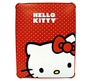 Hello Kitty KT4345R Polycarbonate Case for iPad- Red - E250036