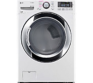 LG 7.4 Cubic Foot Ultra-Large-Capacity SteamDryer - E285836