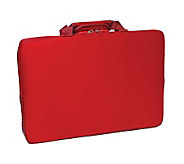 15.6 Notebook Sleeve with Lycra Exterior Shell- Red - E243437
