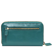 Jill-E Calhoun Leather Smartphone Clutch - E282137