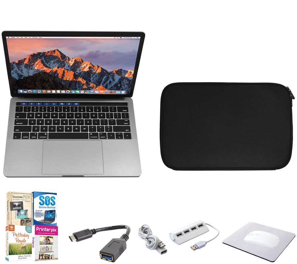 apple macbook pro 13 256gb with touch bar accessories. Black Bedroom Furniture Sets. Home Design Ideas