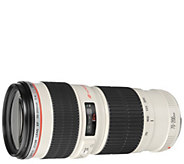 Canon Zoom Telephoto EF 70-200mm f/4.0L USM AFLens - E293837