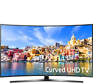 Samsung Curved 43 4K Ultra HD Smart LED TV w/ 2 Yr. Warranty - E230638