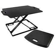 Royal SD22 Slim Sit & Stand Adjustable Desk With Standing Mat - E231138