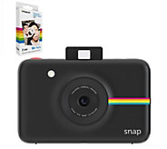 Polaroid Snap Instant Camera with 32GB microSD& 60 Prints - E289938