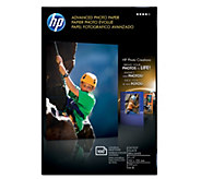 HP Advanced Photo Paper, Glossy, 4x6 100-Count - E290238