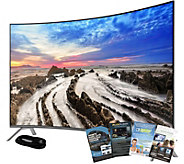 Samsung 49 LED Smart Curved 4K HDR PRO TV w/ HDMI & App Pack - E291238