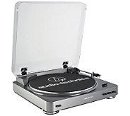 Audio-Technica ATLP60 Fully Automatic Stereo Turntable System - E213239