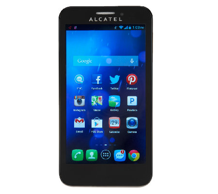 T-Mobile Alcatel Fierce Android 4.1 Smartphone w/App Package