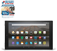 Amazon 10 Quad Core Tablet 16GB w/ Case & Software &Dominos Offer - E229739
