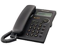 Panasonic 1-Line Corded Telephone System w/CallWaiting CID - E251339