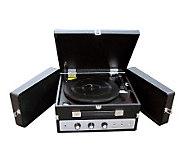 Pyle PLTTB8UI Classical Vinyl Turntable RecordPlayer - E253439