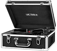 Victrola Full-Size Suitcase Record Player withCD Player - E290839