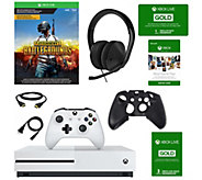 Xbox One S 1TB Console with Battlegrounds & Accessories - E293939