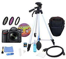 Nikon D7100 18-105mm Lens Kit w/ 16GB SD Card &Accessories