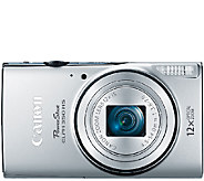 Canon PowerShot ELPH 350 HS 20.2MP Digital Camera - E284040