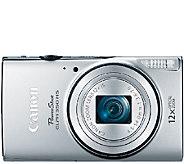 Canon PowerShot ELPH 350 HS 20.2MP Digital Camera - E284040