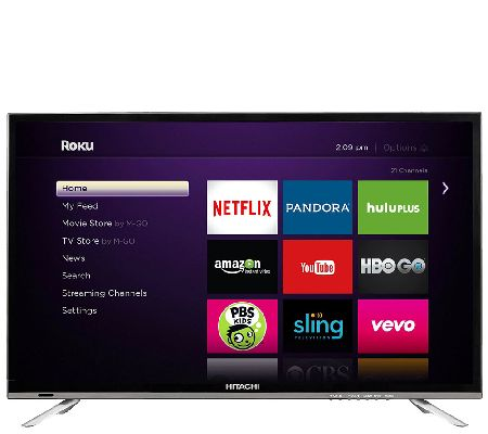 """Hitachi 32"""" 1080p LED HDTV with Roku Streaming - Page 1 ..."""