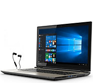 Toshiba 15 Laptop - Core i7, 12GB, 2TB HDD with Earbuds - E285740