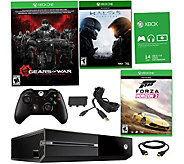 Xbox One 500GB Bundle w/ Gears of War, HALO 5 &Forza - E289940