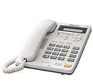 Panasonic KXTS620W Corded Integrated Phone withAnswer System - E213741